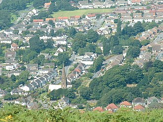 Baglan, Neath Port Talbot - Image: Baglan geograph.org.uk 41828