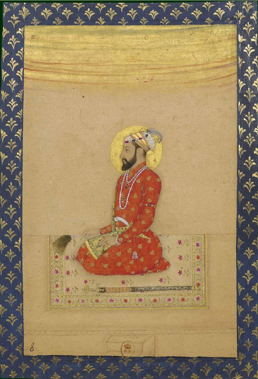 Bahadur Shah, ca. 1670, Biblioth%C3%A8que nationale de France, Paris