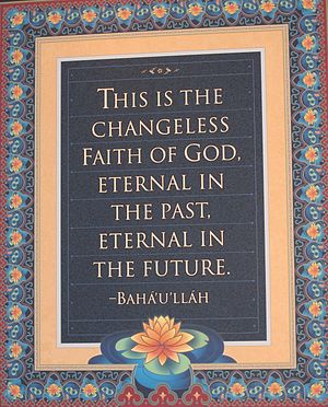 Bahá'í literature - Words from Baha'ullah
