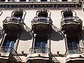 Balcones con rejas del Palacio Gandós.JPG