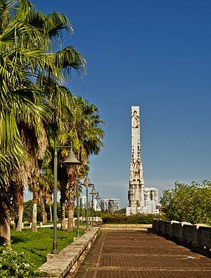 Román Baldorioty de Castro - Obelisk to Baldorioty de Castro in San Juan, Puerto Rico