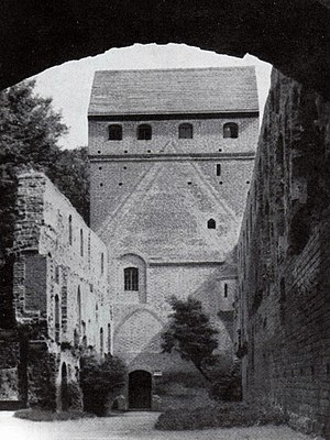 Balga - Balga ruins in their 1930s condition, before damage during World War II