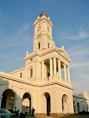 Serviceton railway line - Clocktower at Ballarat station