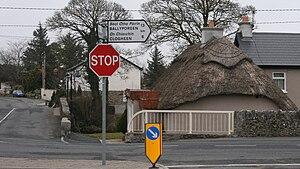 R668 road (Ireland) - R668 through Ballylooby