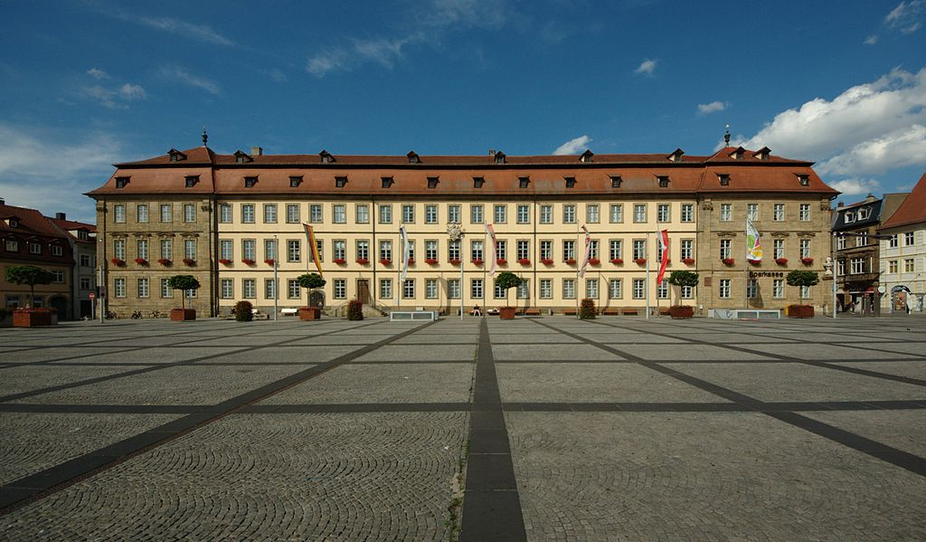 Bamberg Neues Rathaus am Maxplatz