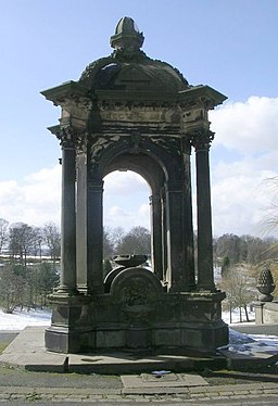 Band of Hope Drinking Fountain - Peel Park - geograph.org.uk - 733581