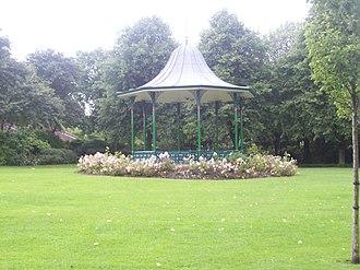 Mowbray Park - Image: Bandstand Mowbray Park