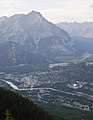 Banff from Sulphur Mountain (7800642484).jpg