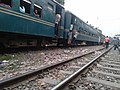 Bangladeshi child's risky climbing on train 2.jpg