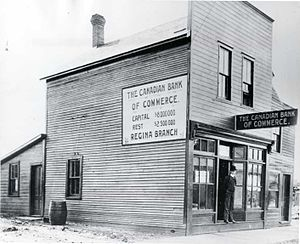 Canadian Bank of Commerce - Bank of Commerce in Regina, 1910