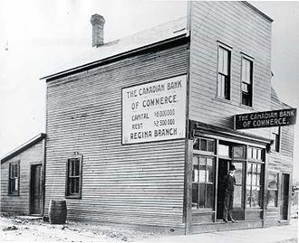 Canadian Bank of Commerce - Bank of Commerce in Regina, 1910