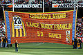 Banner honouring Lance Franklin's 50th game.jpg