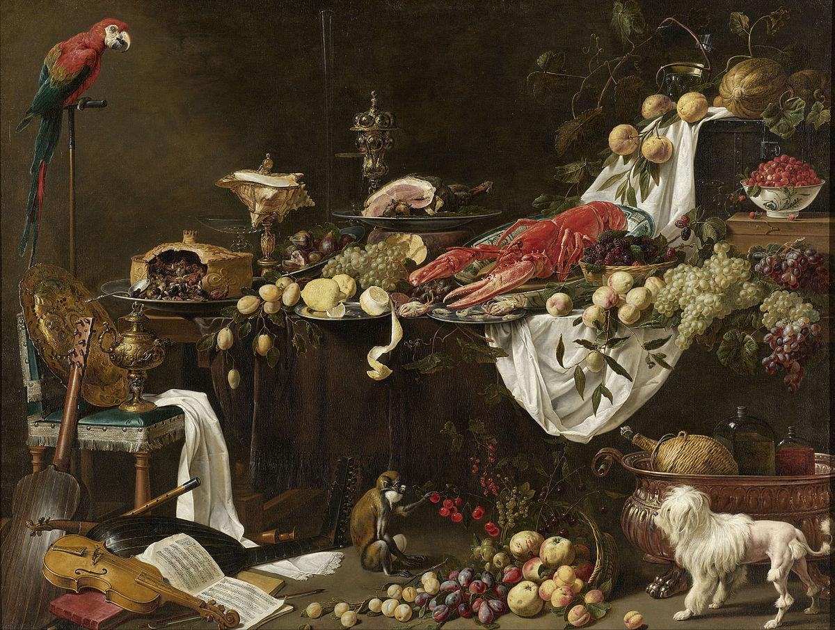 Pronkstilleven wikipedia - 17th century french cuisine ...