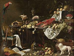 Pronkstilleven - Pronkstilleven by Adriaen van Utrecht, 1644