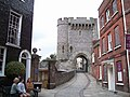 Barbican Gate at Lewes Castle - geograph.org.uk - 1396195.jpg