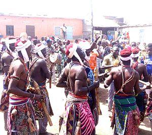 Bariba people - Bariba Ganni performers, Nikki, Bemin