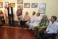 Barun Kumar Sinha - Addressing - Opening Ceremony - Atanu Ghosh Solo Exhibition - Kolkata 2013-12-05 4722.JPG