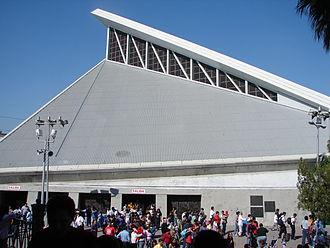 Basilica of Guadalupe, Monterrey - Basilica of Guadalupe (south side).