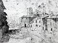 Basilica di San Lorenzo Maggiore dopo il crollo della cupola Milano 1574.jpg