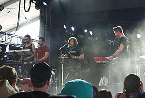 Bastille (band) - Bastille performing at Coachella in 2014