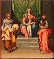 Battista franco detto il semolei, madonna col bambino tra i ss. pietro e paolo, 1545 ca. 01.jpg