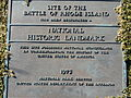 Battle of Rhode Island Site Plaque.JPG
