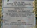 Battle of Rhode Island Site Plaque.JPG