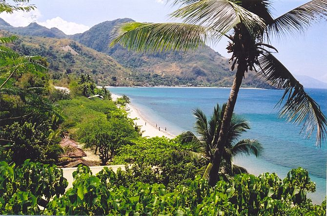 Beach in Northern Mindoro