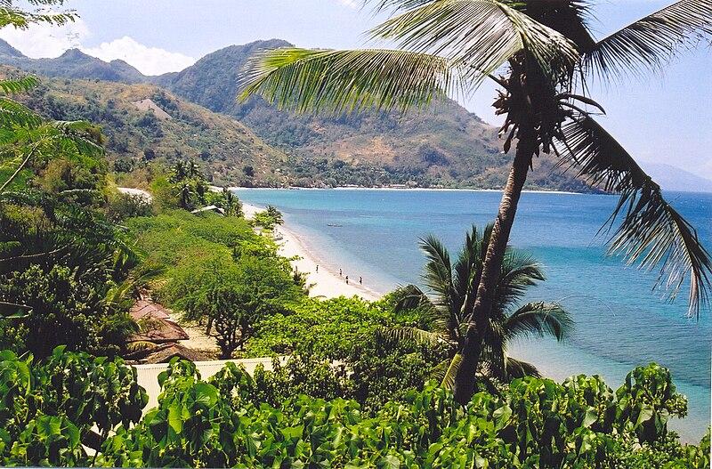 File:Beach North Mindoro Philippines.jpg