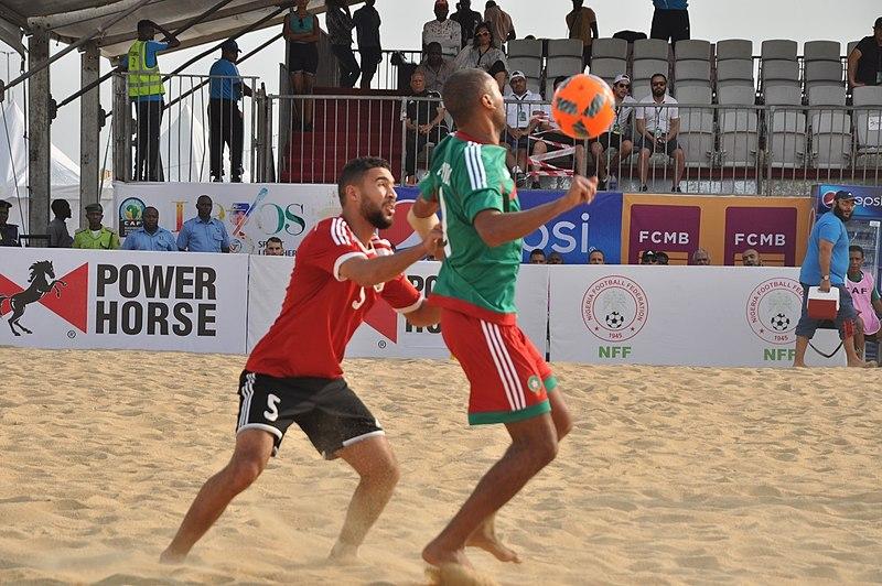 beach soccer matches
