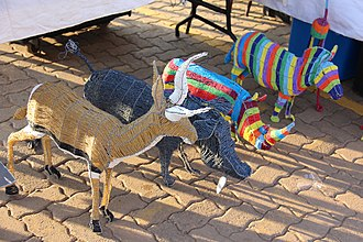 Bruma, Gauteng - Image: Beadwork Wire Art and Crafts (24)