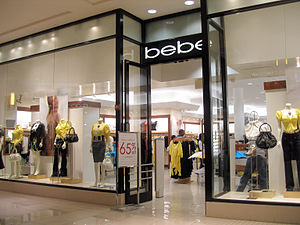 Bebe Stores - A bebe store at Aventura Mall in Aventura, Florida