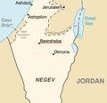 Beersheba Israel Map.png