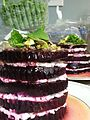 Beets and goat cheese stacks (20103883219).jpg