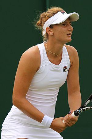 Irina-Camelia Begu - Begu at the 2016 Wimbledon Championships