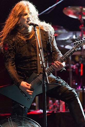 "Behemoth (band) - Guitarist Patryk ""Seth"" Sztyber in 2015"