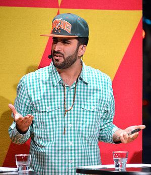 Behrang Miri - Behrang Miri in a debate, 2014.