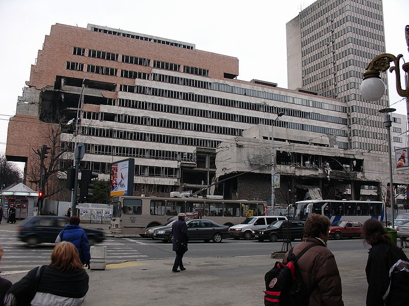 File:Belgrade NATO bombardment damage2.JPG