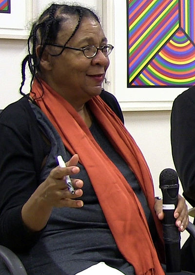 Picture of an author: Bell Hooks