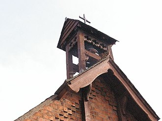 Bell-cot - Image: Bellcot on St Thomas's Church, Eaton geograph.org.uk 274135
