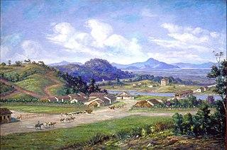 Vista de Cubatão, 1826
