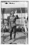 Benjamin Foulois, Army Corps Captain (?) in front of sea plane LCCN2014685919.tif