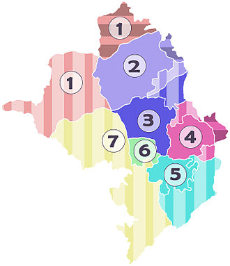 Administrative divisions of the Republic of Artsakh - Provinces of the Republic of Artsakh