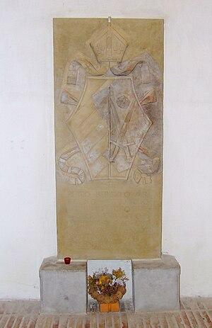 Petar Berislavić - Tombstone of Petar Berislavić in the Cathedral of St Michael in Veszprém