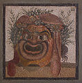 Berlin - Pergamonmuseum - Mosaikfragment - Silensmaske.jpg