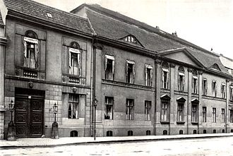 Federal Foreign Office - Foreign Office on Wilhelmstraße 76, about 1880