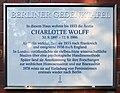 Berliner Gedenktafel Laubenheimer Str 10 (Wilmd) Charlotte Wolff.jpg