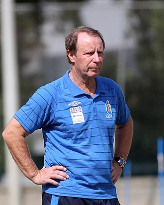 Berti Vogts - Vogts at training session in 2014