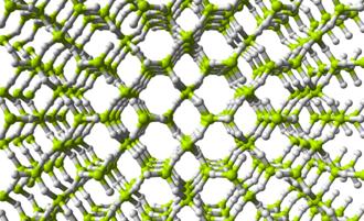 Binary compounds of hydrogen - Image: Beryllium hydride 3D balls