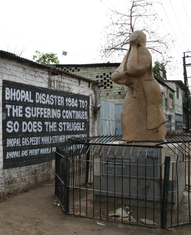 Bhopal-Union Carbide 1 crop memorial